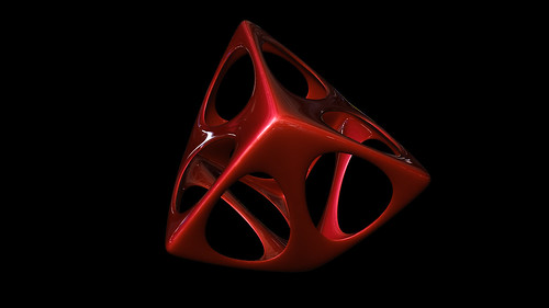 """tetrahedron spiky soft • <a style=""""font-size:0.8em;"""" href=""""http://www.flickr.com/photos/30735181@N00/8325423145/"""" target=""""_blank"""">View on Flickr</a>"""