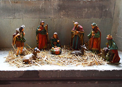 Leeds Castle 8672 (Tony Withers photography) Tags: uk castle lady kent leeds olive scene historic nativity 2012 baillie