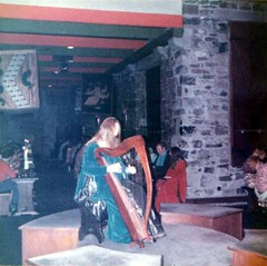 Medieval Harpist (Andy961) Tags: ireland clare quin knappogue castle harp harpist medievalbanquet musician