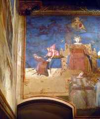 Detail of left edge from Ambrogio Lorenzetti's Allegory of Good Government