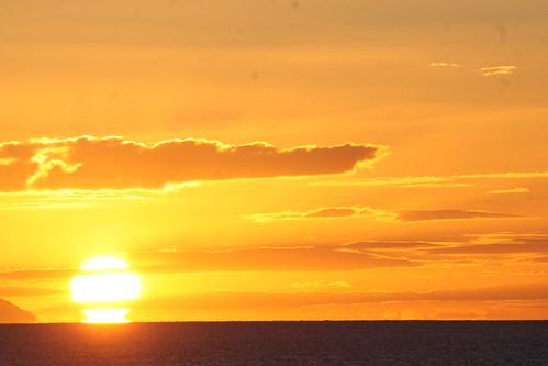 East Cape sunset