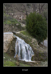 El Salt (la squia) ( alfanhu) Tags: winter mill water landscape waterfall agua salt spot molino invierno salto sella watermill aigua cascada hivern moli paraje paratge feliz2013