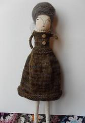Lila ~ a doll in progress (Maidolls) Tags: dolls folk ooak knitted