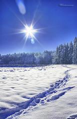 Wintersonne_HDR_ausgearbeitet (peter pirker) Tags: blue schnee winter sky sun snow canon austria sterreich himmel krnten carinthia peter blau sonne villach peterfoto eos550d peterpirker
