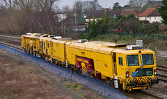 NR DR 77903 & DR 73115, Taunton (Rabbi WP Thinrod) Tags: track machine taunton ballastregulator tamperliner dr73115 dr77903