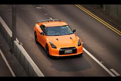 Orange Nissan GTR R35 Skyline, Admiralty, Hong Kong (Kevin Ho  Photography) Tags: orange rain monster skyline honda hongkong japanese gold golden nissan taxi performance hong kong godzilla exotic toyota modified r33 supercar lfa matte lexus admiralty gtr r32 nismo r34 gt5 r35 relexe