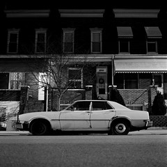 (patrickjoust) Tags: auto city urban bw usa white black classic 120 6x6 mamiya tlr blancoynegro film home car night analog america dark lens us reflex md focus automobile long exposure fuji mechanical united release tripod north patrick twin maryland cable s baltimore fujifilm after medium format neopan 100 states manual 12 80 joust developed f28 hampden develop acros estados xtol 80mm blancetnoir unidos c330 sekor schwarzundweiss fujifilmneopan100acros mamiyac330s autaut sekor80mmf28 patrickjoust developedinxtol12