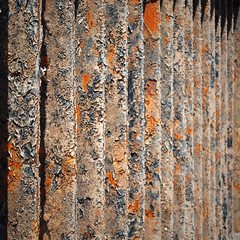 Mental barriers / Barriere mentali (Giorgio Ghezzi) Tags: abstract fence crust rust gate astratto cancello ruggine crosta giorgioghezzi