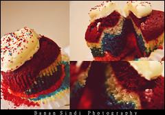 Cupcake Rainbow (Banan Sindi) Tags: rainbow cupcake كيك قوس قزح ملون كب