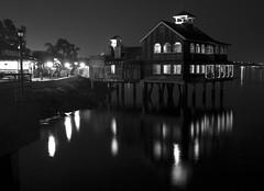 San Diego Pier Cafe (San Diego Shooter) Tags: blackandwhite sandiego seaportvillage downtownsandiego sandiegopiercafe sandiegocityscape sandiegopiercafeseaportvillage
