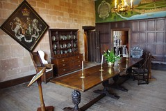 The Dining Room (Dave Hamster) Tags: castle table room tudor diningroom dining elizabethan warwickshire diningtable kenilworth kenilworthcastle
