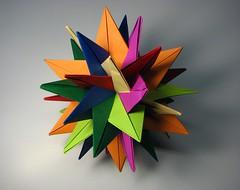 TUVWXYZ Star (fdecomite) Tags: model origami modular planar