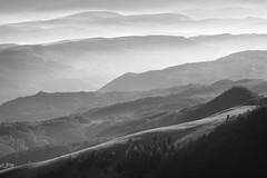 Radiša Živković - Morning note I (Radisa Zivkovic) Tags: morning light sunlight white mist mountains fog landscape dawn nikon scenery europe plateau serbia hills highland vista layers golija pester