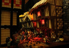 Im a firestarter (peggyjdb) Tags: house london fire lego timber burn bakery greatfireoflondon 1666 tatch