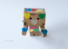Todo Corazn (Eoland Sawyer) Tags: heart colores corazon danbo danboard
