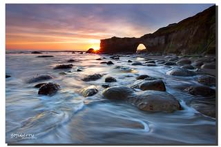 Low tidal exposure, Santa Cruz, CA