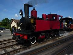 Noyelles-Sur-Mer 2 (Worthing Wanderer) Tags: summer france railway sunny august steam preserved somme picardy chemindefer noyellessurmer chemindeferdelabaiedesomme bayofthesommerailway