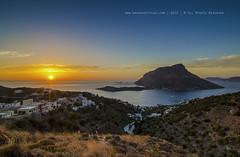 Sunset at Telendos (george papapostolou) Tags: travel sunset summer nature landscape island nikon aegeansea telendos kalymnosisland nikond7000 dodekanisagreece georgepapapostolou