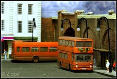 Weathered Tomatoes (Zippy's Revenge) Tags: bus scale manchester toy model transport first weathered standard modelling tomatosoup diorama efe leyland diecast wn greatermanchester atlantean firstgroup 4603 oogauge northerncounties ncme exclusivefirsteditions 176thscale ana603y