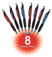 Stylus Pens - 2 in 1 Touch Screen & Writing Pen, Sensitive Stylus Tip - For Your iPad, iPhone, Kindle, Nook, Samsung Galaxy & More - Assorted Colors, 8 pack (saidkam29) Tags: colors writing sensitive touch samsung screen more pack galaxy stylus pens nook assorted iphone ipad kindle