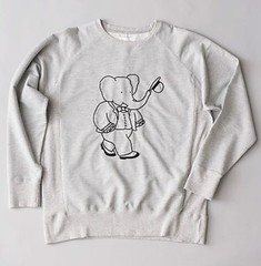 Babar x Soulland (hobohofficial) Tags: babar elephant soulland couture houtecouture hoboh grey follow