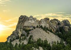 Mt Rushmore Sunset (takeruyamato44) Tags: rushmore mountain national monument united states america presidents sunsets southdakota sd keystone nature naturelovers