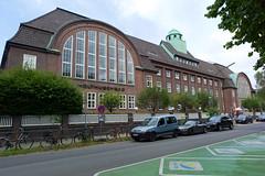 Holthusenbad, Hamburg (David_Leicafan) Tags: 24mmelmaritasph fritzschumacher eppendorf hamburg pool swimmingpool