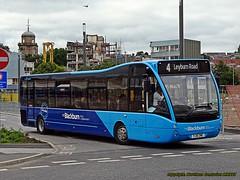 a new look (northerncenturion) Tags: blackburn vehicle bus yj16dwc transdev optare versa lancashire
