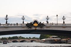 paris_2016_2615 (rollertilly) Tags: paris seine bateaux mouches frankreich france bootsfahrt brcken ponts pontneuf eiffelturm abendsonne