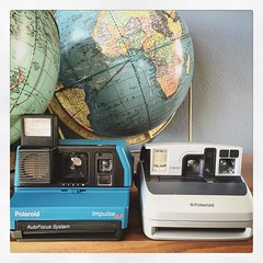 Finishing up with these two today. Polaroid Impulse AF and a One600! What are your thoughts on these two? Like or dislike? #polaroid #polaroid600 #polaroidimpulse #instantcamera #instant #cameraporn (shutterlightOC) Tags: instagramapp square squareformat iphoneography uploaded:by=instagram reyes