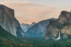 Happy 100th Birthday National Park services !! (shalabh_sharma7) Tags: yosemitenationalpark yosemite california nps100 nationalparkservices tunnelview sunset halfdome travel sonya77ii tamron elcapitan bridalveilfall waterfall trees mountains