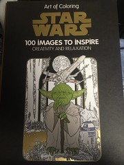 art of coloring (timp37) Tags: star wars book coloring force orland park august 2016 yoda disney illinois