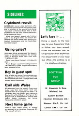 Celtic vs Ipswich Town - 1976 - Page 11 (The Sky Strikers) Tags: celtic ipswich town challenge match friendly parkhead souvenir programme 10p