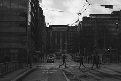 Beat less (Jori Samonen) Tags: city street intersection lights people cars bus buildings tram tracks clouds kaivokatu mannerheimintie simonkatu helsinki finland sony ilce3000 sonyilce3000 canon efs 55250mm f456 is canonefs55250mmf456is efs55250mmf456is