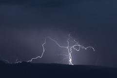 Lighenting (M@ H) Tags: prescott store arizona weather lightening nature mingusmountain