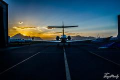 IMG_2265 (jorgemoody) Tags: light airplane plane sunset bn bw people hdr