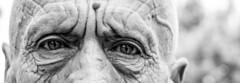 eyes (yasar metin) Tags: mr yaamak yaarmetin yaam ihtiyarlk canon ekim eos photo photography life street amatr aray amateur anlamak turkey trk turkish tutku tebessm tutunmak smile susmak time trkiye krehir turk fotograf fotoraf photographer yaar metin greatphotographers ngc monochrome blackandwhite portrait people drawing surreal sketch sculpture ancient texture outdoor depth field eye white background border