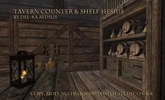 TavernCounterAndShelf_Hesius1 (nea.narstrom) Tags: medieval tavern inn pub brothel longhall