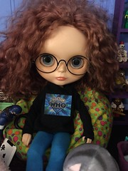 Spectacles. #may #blythecustom #doctorwho #egsworld #dollphotography