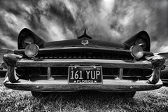Mercury (The_Random_Photographer) Tags: car mercury classic retrofestival chrome pentax k3ii 816mm uwa ultrawideangle mono