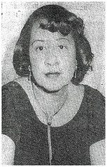 Margaret Gilmore, leader of UPWA Local 3 at Bureau of Engraving: 1951 ca. (washington_area_spark) Tags: engraving plate printers us printing discrimination segregation jim crow skilled jobs assistants helpers civil rights protest demonstration picket rally speeches job employment margaret gilmore united public workers america local 3 upwa washington dc white house 1951