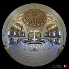 Al Fateh Grand Mosque (Sadoons Photography) Tags: manama islam peace muslim prayer salat salah masjid mosque sadoon sadoonsphotography architecture prayerhall hall pray spiritual prespective