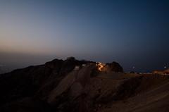 Jebel Hafeet by night (jakobplaschke) Tags: mountain mountains united arab emirates uae abu dhabi al ain nature landscape lights night evening mountainside travel adventure hiking