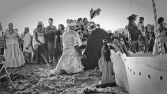IemanjaNB00277 (cocolokoproducciones) Tags: iemanja diosa mar umbandista umbanda culto maedosantos playaramirez afro religion uruguay montevideo ofrenda lancha blanconegro noirblanc blackwhite