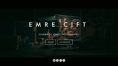 New Website (emrecift) Tags: emrecift emreciftcom cinematic street photography portfolio lightroom lr presets squarespace website