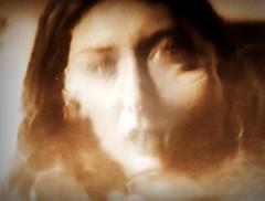 2016-08-22 portrait soluble (14)f (april-mo) Tags: soluble portrait experimentaltechnique experimental creative foil distortions reflection art woman womanportrait monochrome solubleportrait