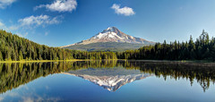 2016-08 Stephen Payne-211-216 HDR pano.jpg (Stephen_Payne) Tags: panoramas hdrphotos oregon trilliumlake othertags mthood reflections mountains places lakes