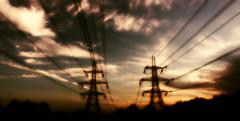 Pylons Warm? (miniwaites) Tags: cloud clouds hss nex sky a6000 colorefex nik niksuite power powerlines processed pylon pylons sony tree trees warm campseaashe england unitedkingdom gb