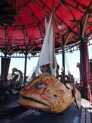 fish-shaped carousel seat (d0gwalker) Tags: lips merrygoround carrousel carousel fish nantes iledenantes machinesdelile paysdelaloire loireatlantique