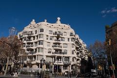Casa Mil (Saulomi) Tags: casamil barcelona gaudi